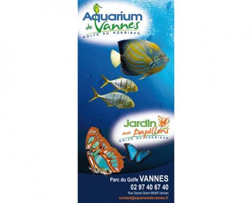 aquarium Vannes dépliant