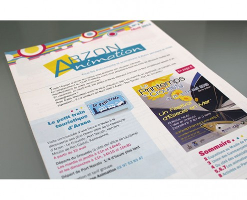 Arzon animation couverture