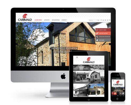 webdesign site internet responsive Carimalo