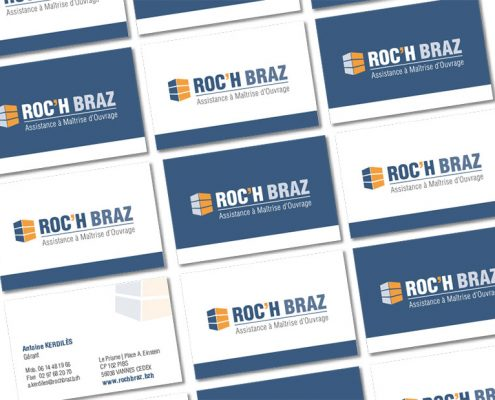 Roc'h Braz Cartes de visite