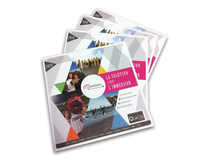 Brochure, plaquette