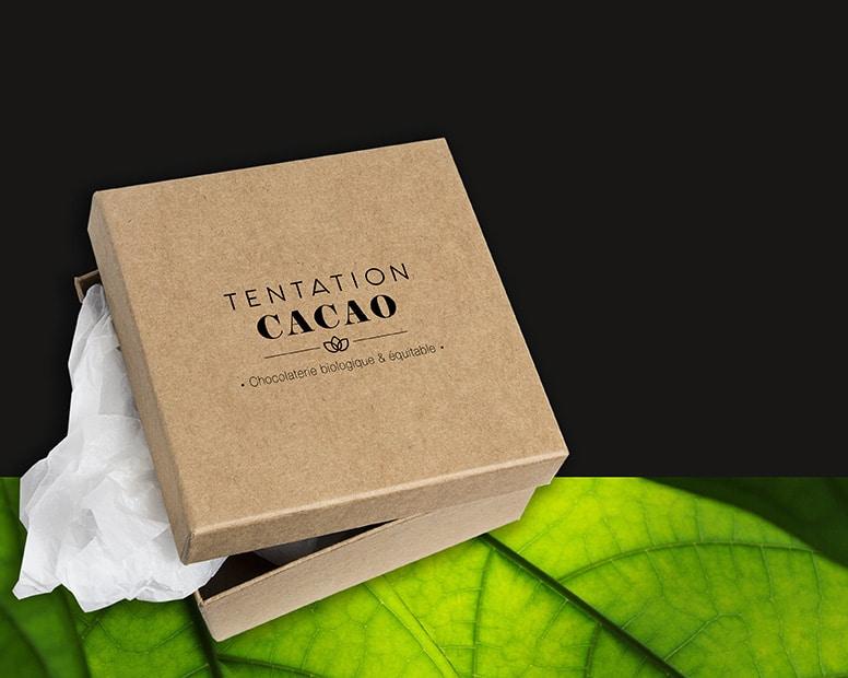 Packaging chocolat personnalisé