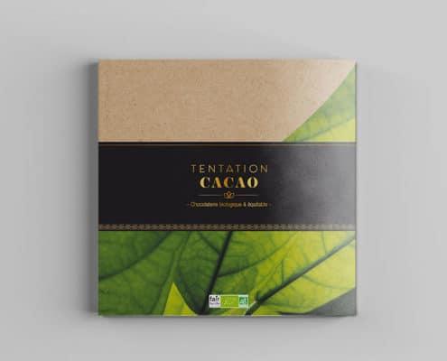 Brochure catalogue chocolats de Noël