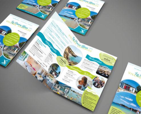 Centre de vacances brochure plaquette commerciale