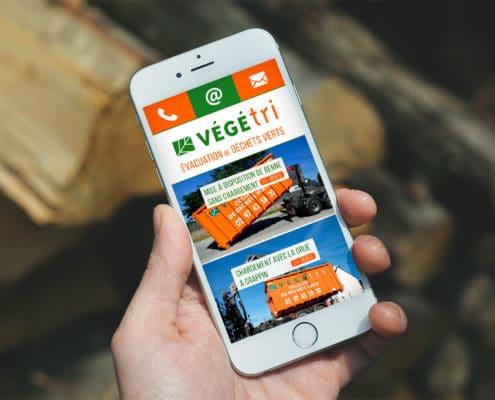 Webdesign sur smartphone
