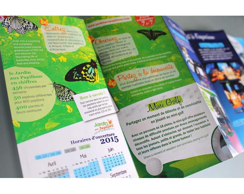 aquarium vannes flyer interieur papillon