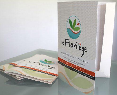 Pochette A4 Florilège