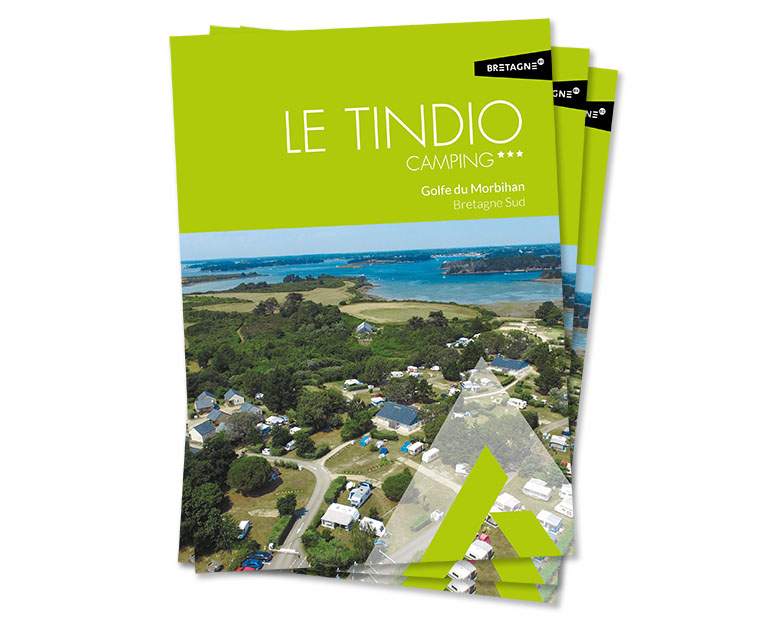 Camping le Tindio Plaquette commerciale