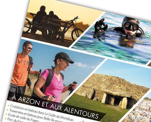 Camping Le Tindio plaquette commerciale, Arzon et ses alentours
