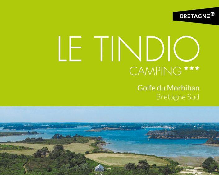 Camping Le Tindio plaquette commerciale, Arzon, Presqu'île de Rhuys