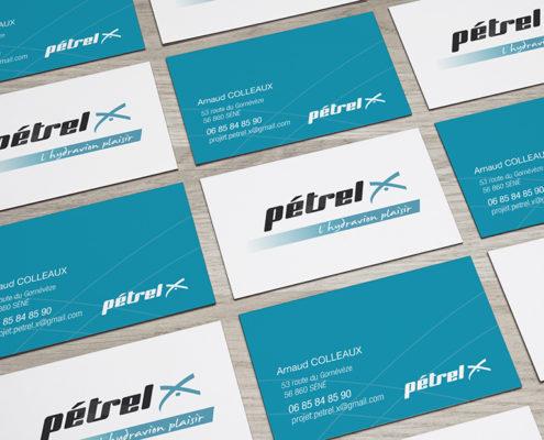 Cartes de visite Petrel X