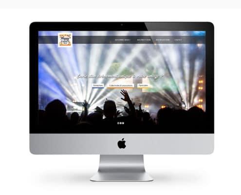 site internet agence événementielle sur-mesure