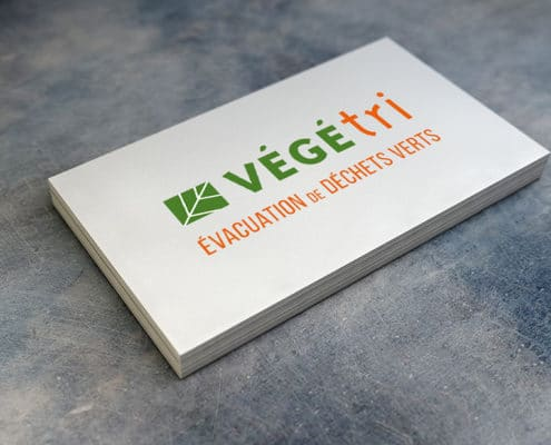 Adaptation du logotype sur carte de visite