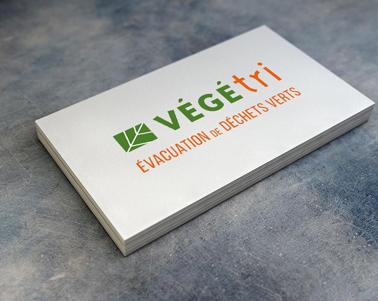 Adaptation du logotype sur carte de visite