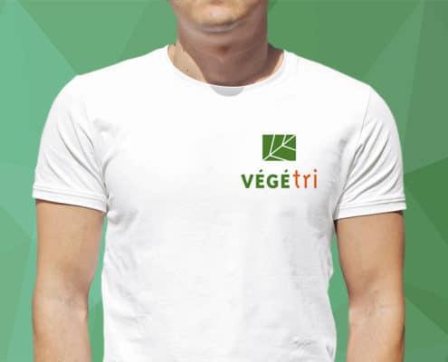 Identité visuelle sur textile t-shirt