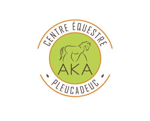 Logo du centre équestre AKA à Pleucadeuc