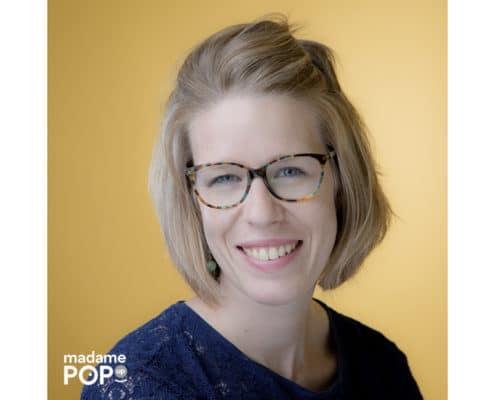 Portrait de Celia Malidin par Madame Pop Up