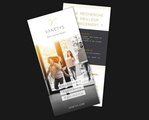Flyer recto verso Vanetys