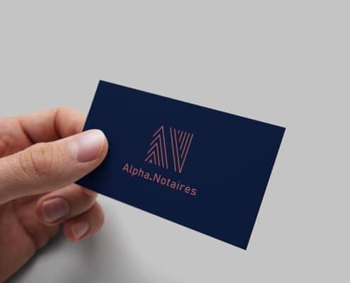 Carte de visite Alpha Notaires